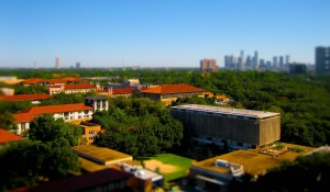 Rice University in Miniature