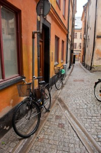 The Bikes of Gamla Stan