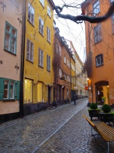 Colourful Gamla Stan