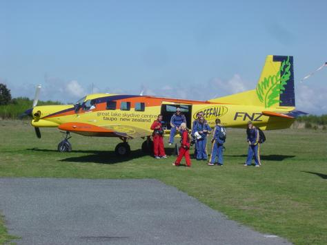The plane at Freefall!