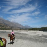 Horseback Riding near Glenorchy