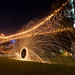 Photo Essay: An Evening of Burning Steel Wool