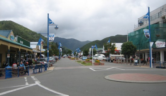 Picton's main drag