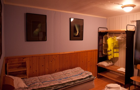 Bedroom at the Northern Lights Apartments