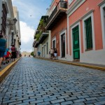 The Cobblestone Streets of Old San Juan