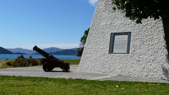 The Memorial at Ship Cove