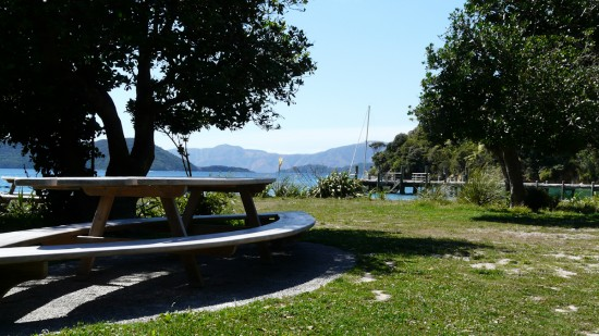 Picnic Table at Ship Cove
