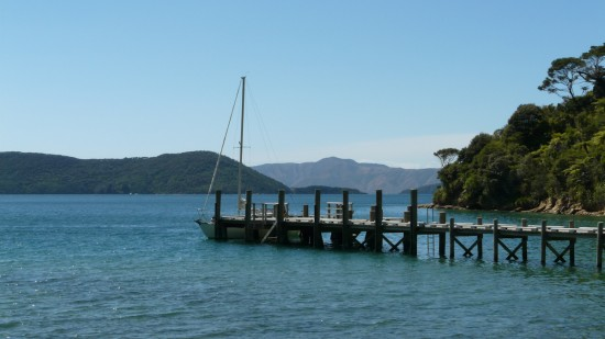 The Jetty at Ship Cove