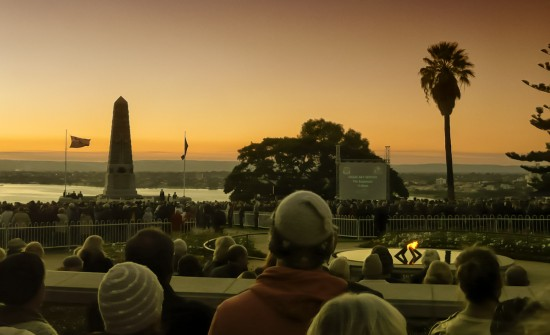 Anzac Day in Kings Park