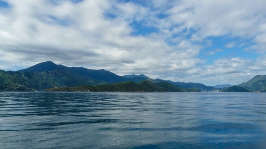 On Queen Charlotte Sound