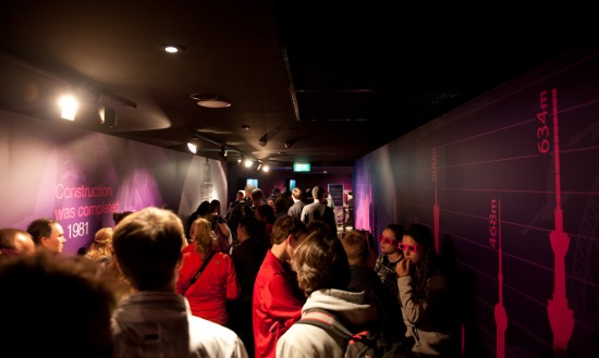 The line at Sydney Tower