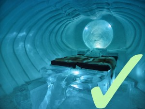 Stay in the Icehotel