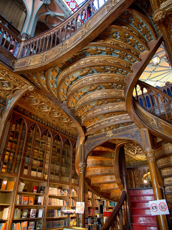 Livraria Lello from a slightly different angle.