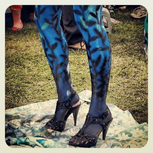 'Under the Sea' Legs at the Body Art Carnivale