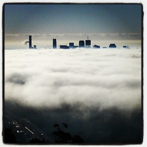 Foggy Brisbane Morning