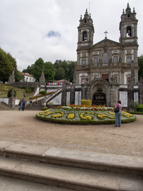 The church of Bom Jesus.