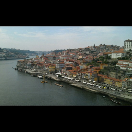 Porto from the Dom Luis Bridge