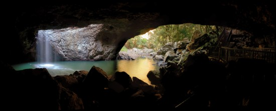August 2012: Natural Bridge in Springbrook National Park