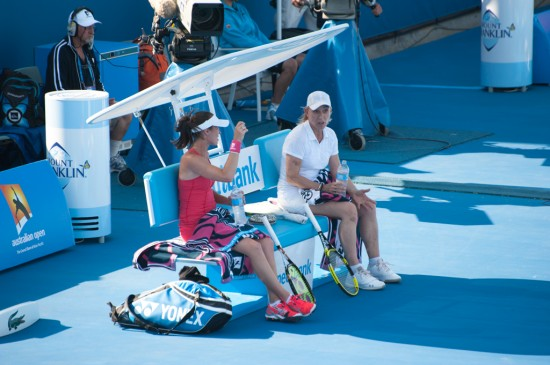 Martina Hingis &amp; Martina Navratilova