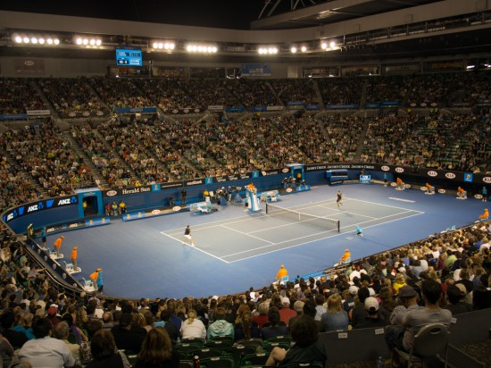 Rod Laver Arena, 11pm