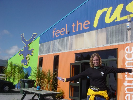 Skydiving in Taupo