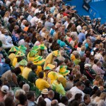 Aussies cheering for Bernard Tomic