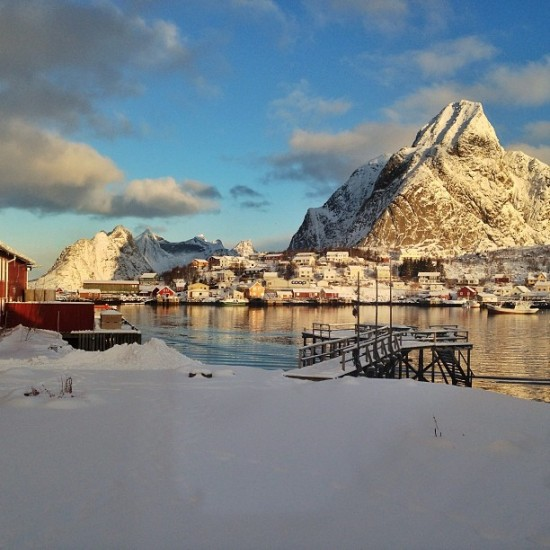 Reine, as seen from my rorbu's window.