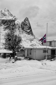 Flying the Norwegian Flag