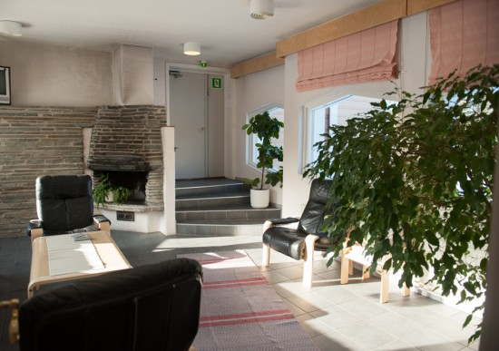 Greenery in Hotel Kultahovi
