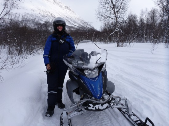 Me with my Snowmobile