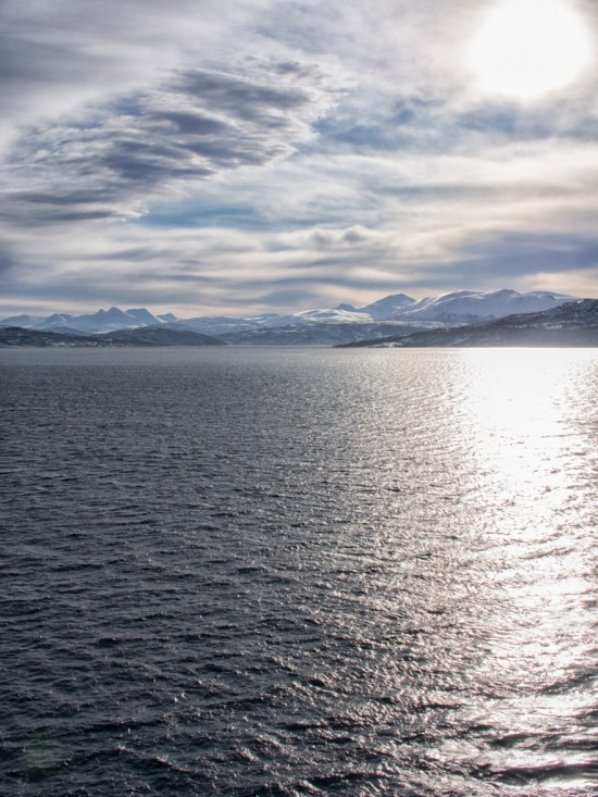 Seeing the Norwegian fjords in a different light.