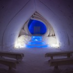 Enjoying the Moment at the Arctic Snow Hotel