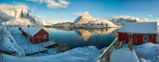 Reine, Norway, in Early March