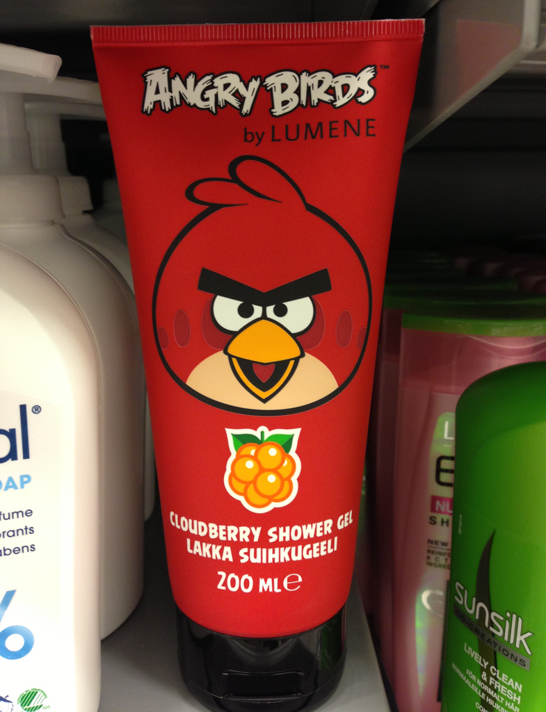 Finland brought to you by the angry birds