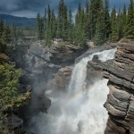 Rainbow Over Athabasca Falls