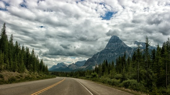 Swirling Clouds on the Icefields Parkway