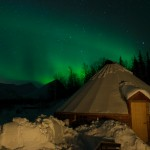 Northern Lights in the Lyngen Alps