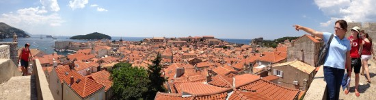 On the Walls of Dubrovnik