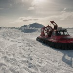 Hovercrafting in the Luleå Archipelago