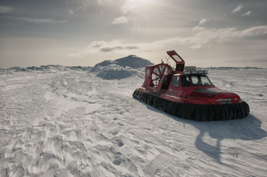 Hovercraft on the Ice