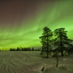 Celebrating St. Patrick's Day With the Aurora (And Knee-Deep Snow)