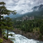 Bow Falls & The Fairmont Banff Springs