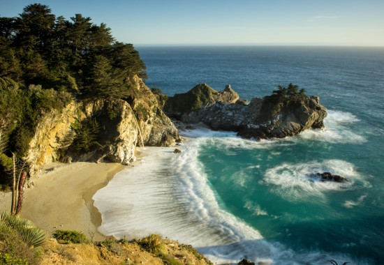 McWay Falls at Golden Hour