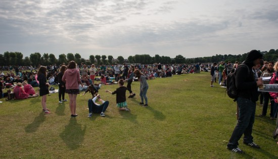 Early Morning in the Wimbledon Queue