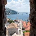 Peeking Out at Dubrovnik
