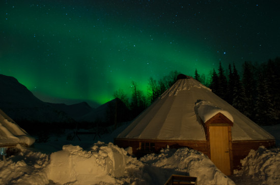 Northern Lights Over Camp Tamok