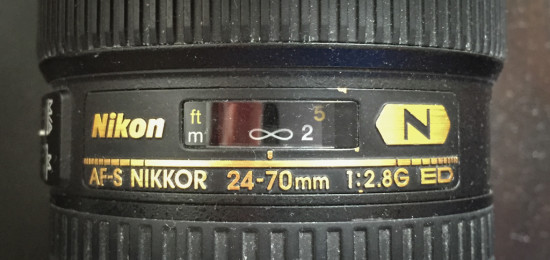 Focal Ring on 24-70mm Lens