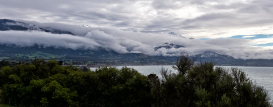 Kaikoura Under Cloud