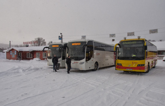 Buses in Northern Norway