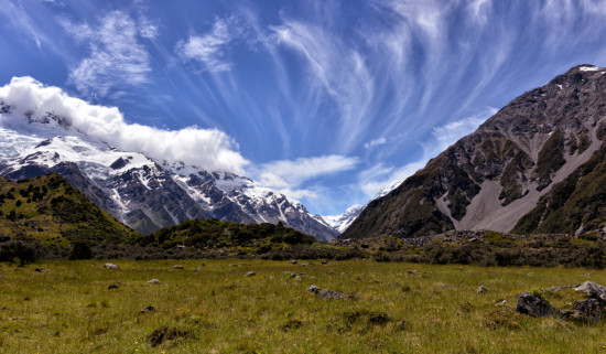Clouds Above the Hooker Valley